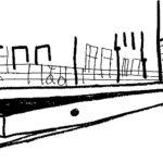 Mollenmuur Oetewalerstraat 1996