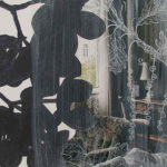 acryl en zeefdruk op paneel, 2003