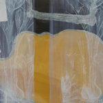 acryl en zeefdruk op paneel 2003