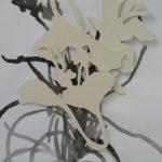 porselein en oi inkttekening, 50/65 cm, 2005